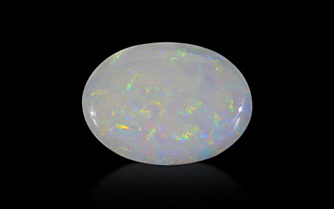 White Opal With Fire - 5.97 carats