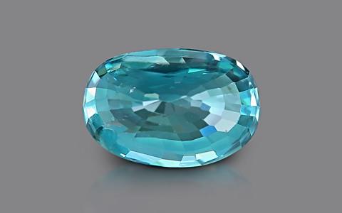 Blue Zircon - 4.02 carats