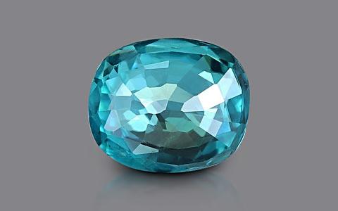 Blue Zircon - 4.17 carats