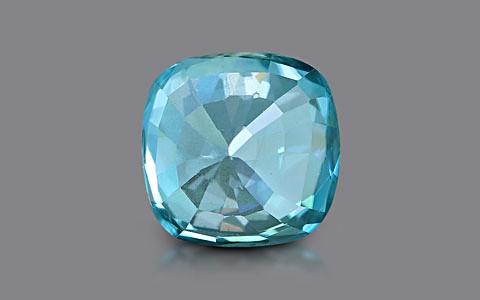 Blue Zircon - 4.13 carats