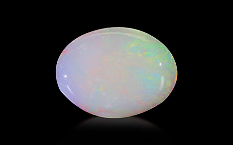 White Opal With Fire - 4.26 carats