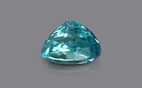 Blue Zircon - 3.84 carats