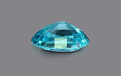 Blue Zircon - 2.72 carats