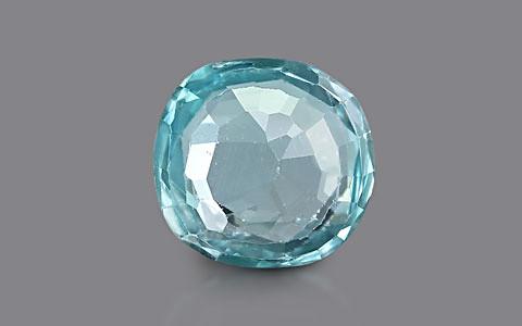 Blue Zircon - 3.39 carats