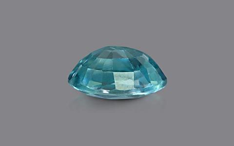 Blue Zircon - 2.97 carats