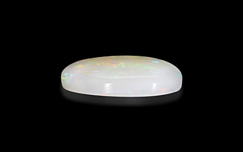 White Opal With Fire - 3.39 carats