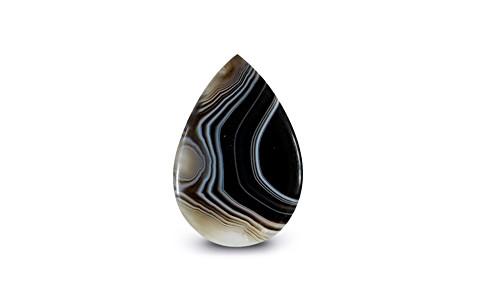Striped Onyx - 16.40 carats