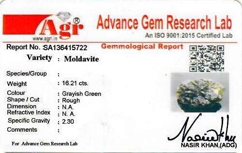 Moldavite - 3.24 grams