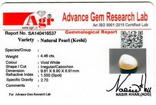 Keshi Pearl - 4.46 carats