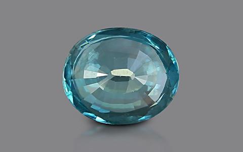 Blue Zircon - 6.80 carats