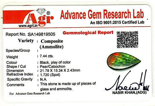 Ammolite - 7.44 carats