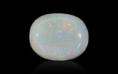 White Opal With Fire - 3.09 carats