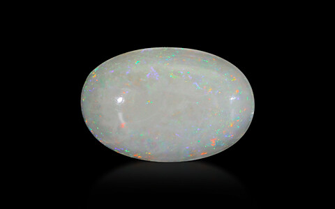 White Opal With Fire - 8.14 carats