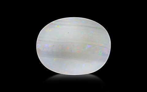 White Opal With Fire - 9.24 carats