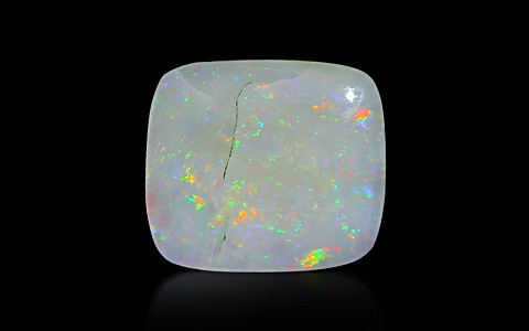 White Opal With Fire - 5.07 carats
