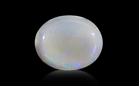 White Opal With Fire - 12.05 carats
