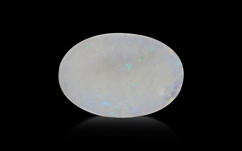 White Opal With Fire - 7.27 carats