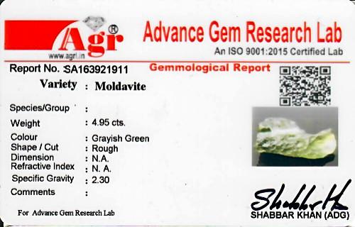 Moldavite - 0.99 grams