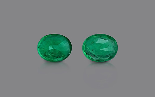 Emerald Pair - 0.67 carats