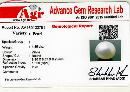 South Sea Pearl - 4.85 carats