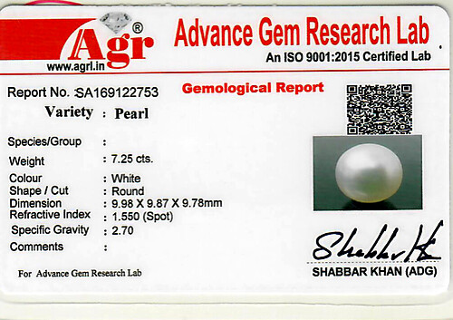 South Sea Pearl - 7.25 carats