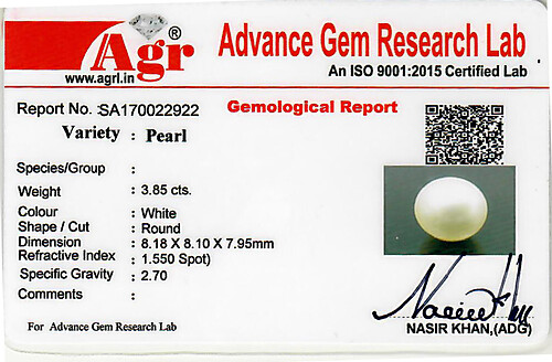 South Sea Pearl - 3.85 carats