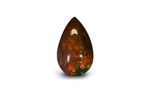 Black Opal - 2.28 carats
