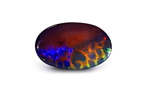 Black Opal - 3.83 carats