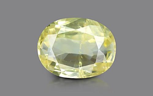 Yellow Sapphire - 5.88 carats
