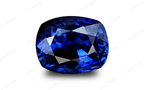 Royal Blue Sapphire - 5.10 carats