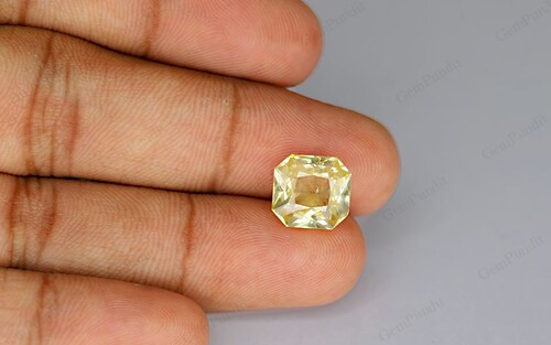 Yellow Sapphire - 7.76 carats