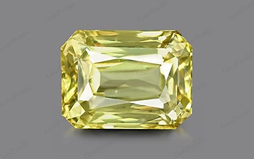 Yellow Sapphire - 3.89 carats