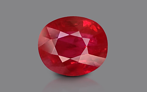 Pigeon Blood Ruby - 6.03 carats