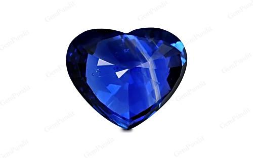 Royal Blue Sapphire - 5.46 carats