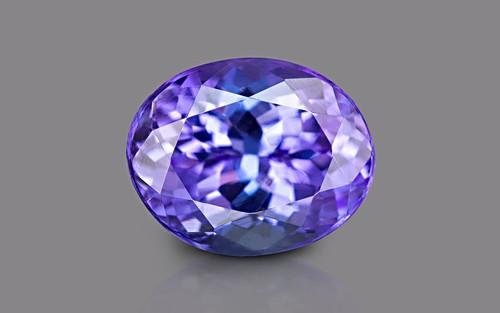 Tanzanite 10x8 - 3.16 carats (AAA)
