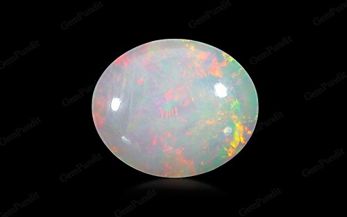 White Opal With Fire - 11.16 carats