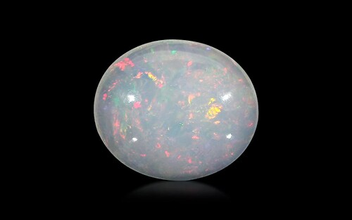 White Opal With Fire - 10.20 carats