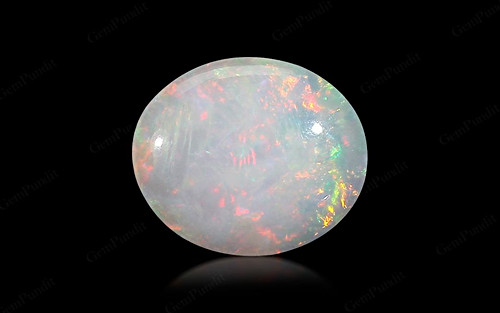 White Opal With Fire - 9.85 carats