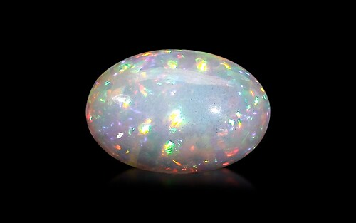 White Opal With Fire - 9.81 carats
