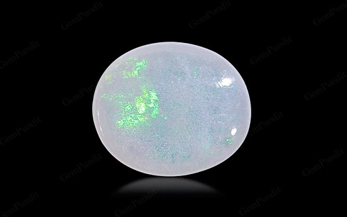 White Opal With Fire - 3.97 carats