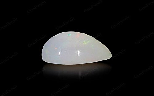 White Opal With Fire - 2.58 carats