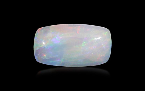 White Opal With Fire - 2.73 carats