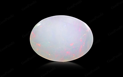 White Opal With Fire - 5.84 carats