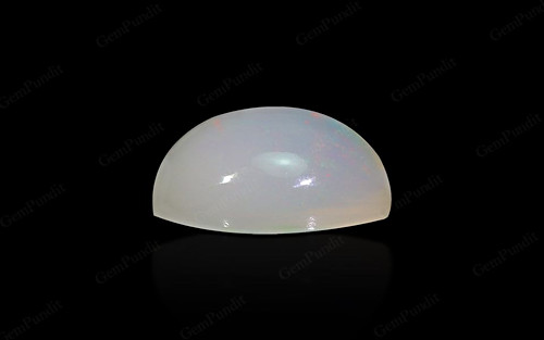 White Opal With Fire - 3.05 carats