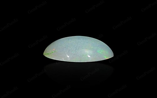 White Opal With Fire - 0.85 carats