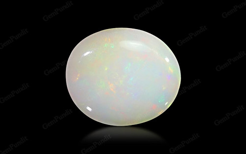 White Opal With Fire - 5.54 carats