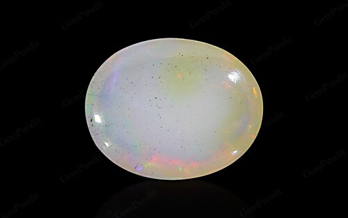White Opal With Fire - 3.63 carats
