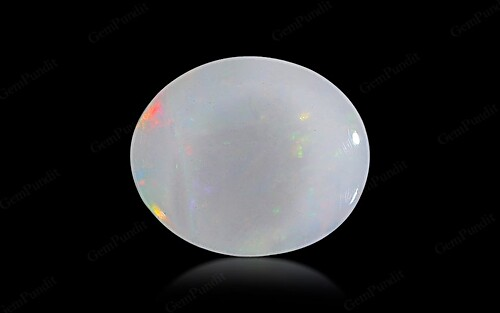 White Opal With Fire - 2.83 carats