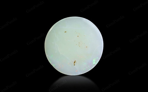 White Opal With Fire - 10.82 carats