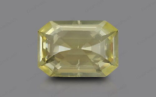 Yellow Sapphire - 6.22 carats